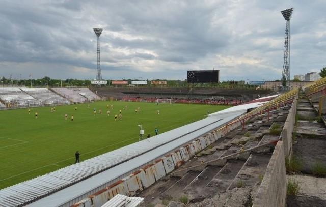 Tak obecnie wygląda stadion ŁKS