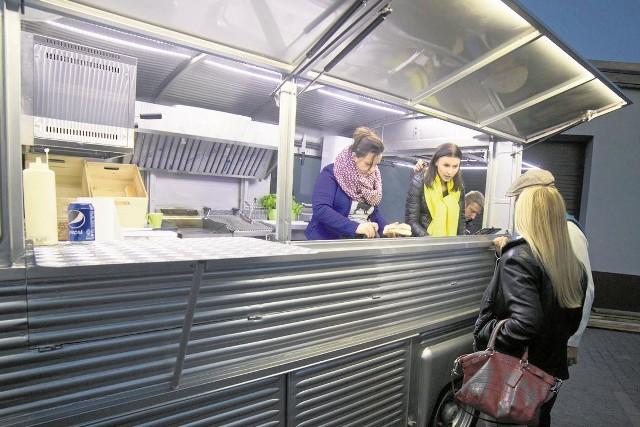 Designerski food truck Frank