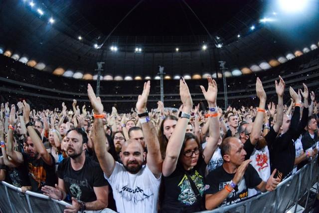 Koncert Metallica na PGE Narodowym