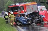 Wypadek w Stalowej Woli. Kierowca audi S7 miał 2,89 promila alkoholu we krwi!