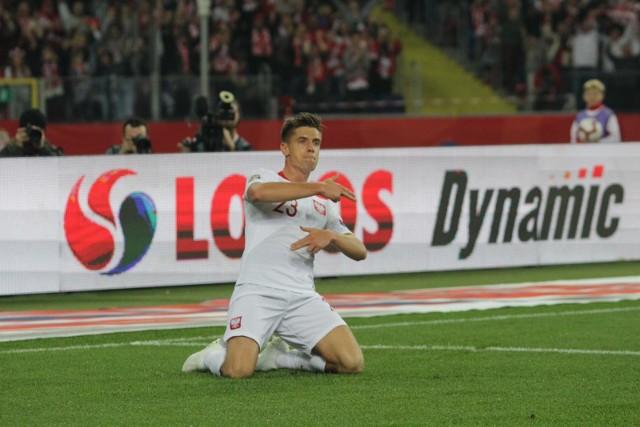 Krzysztof Piątek do niedzielnego meczu z Włochami zagrał w kadrze dwa razy.