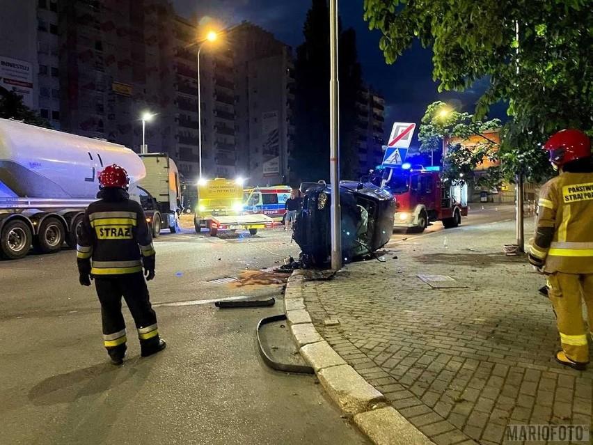 Wypadek w Opolu.