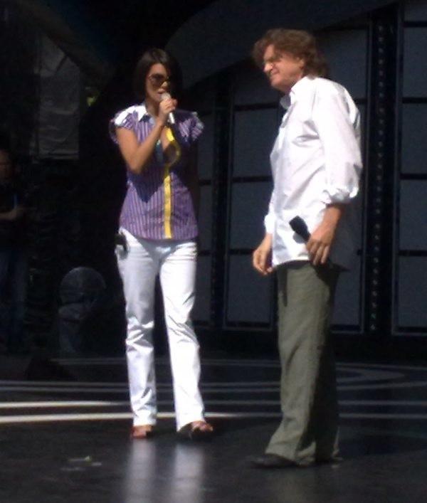 Na scenie Edyta Górniak i Zbigniew Wodecki.