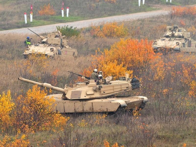 Szczecińscy żołnierze ćwiczyli z Amerykanami...