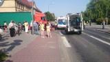 Wypadek w Opalenicy: TIR potrącił śmiertelnie kobietę na przejściu dla pieszych [ZDJĘCIA]