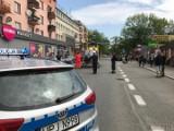 Śmigłowiec LPR lądował na ratunek w centrum Opola. Maszyna na kilka godzin zablokowała ulicę Oleską, bo się zepsuła