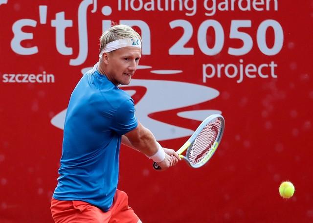 Zdenek Kolar - triumfator Pekao Szczecin Open 2021.