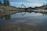 Wodociągi Białostockie modernizują stawy przy ujęciu wody w Wasilkowie (zdjęcia)