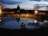 Bolewice: 60-letni mężczyzna utonął w stawie [ZDJĘCIA]