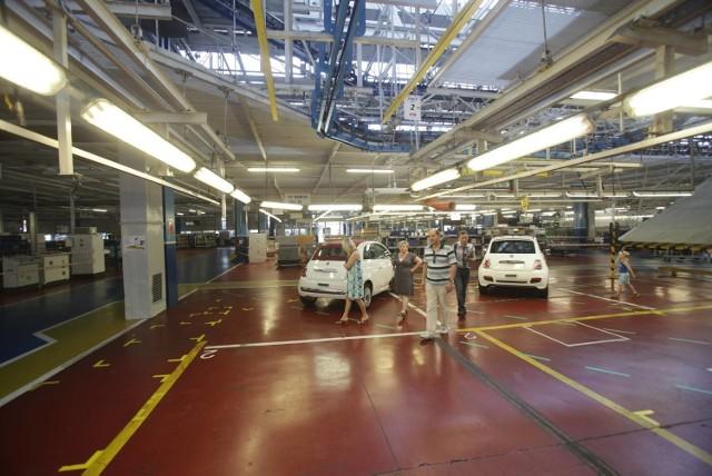 Fabryka Fiat Chrysler Automobiles w Tychach już bez forda ka. Co z załogą?FCA w Tychach podczas jednego z Dni Rodzinnych