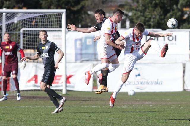 Apklan Resovia wiosną wygrała już trzeci mecz u siebie. ŁKS jest drugim faworytem - po Bruk-Bet Tarmalice Nieciecza - jaki poległ na Wyspiańskiego 22.