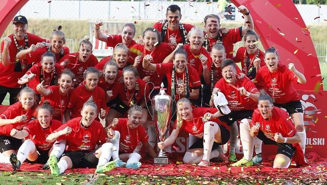 Piłkarki GKS Górnik Łęczna pokonały 3:1 ekipę KKS Czarni Sosnowiec i zdobyły Puchar Polski