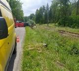 Tragiczny wypadek w Ustroniu. Kierowca uderzył w drzewo. Zginął na miejscu