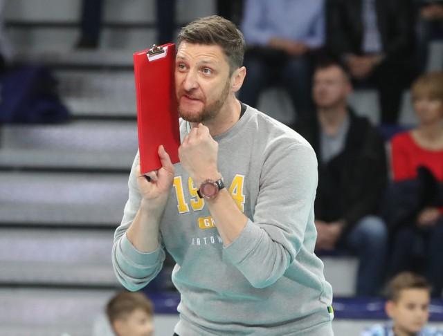 Piotr Gruszka jest trenerem GKS Katowice.