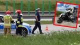 Śmiertelny wypadek na A1! Zderzenie samochodu dostawczego z ciężarówką! ZDJĘCIA