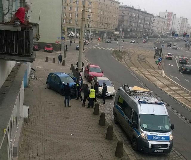Wypadek na ulicy Sądowej przy placu Legionów, 5.03.2016