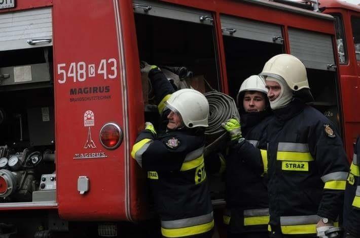 Gdy tylko zawyje syrena, strażacy już są gotowi do akcji