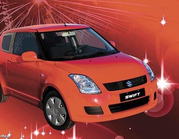Suzuki Swift - główna nagroda w loterii nto.