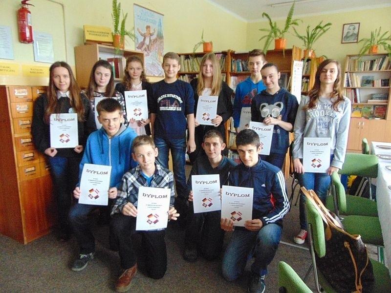 W Gimnazjum Nr 2 w Łapach odbył się 5 marca Gminny Konkurs...
