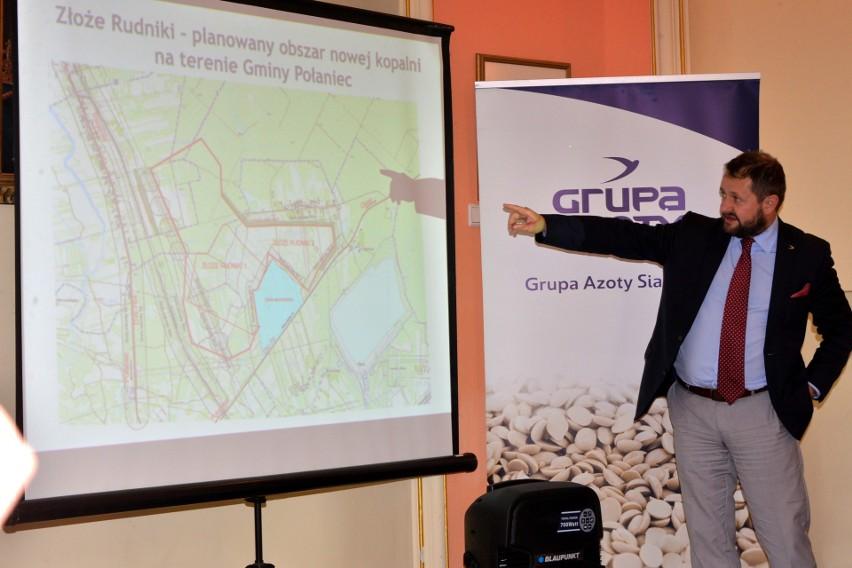 Grupa Azoty Siarkopol buduje druga kopalnię i kolejową bazę logistyczną