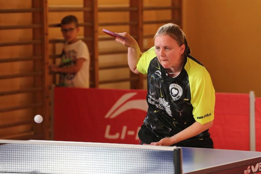 Innę Karahodzinę i jej koleżanki z ATS Białystok czeka trudny mecz z rezerwami GLKS Nadarzyn