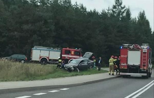 Wypadek na DK11 koło Koszalina