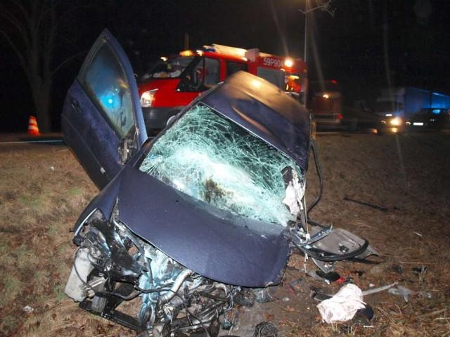 Wypadek w Chełmnie: Jedna osoba nie żyje