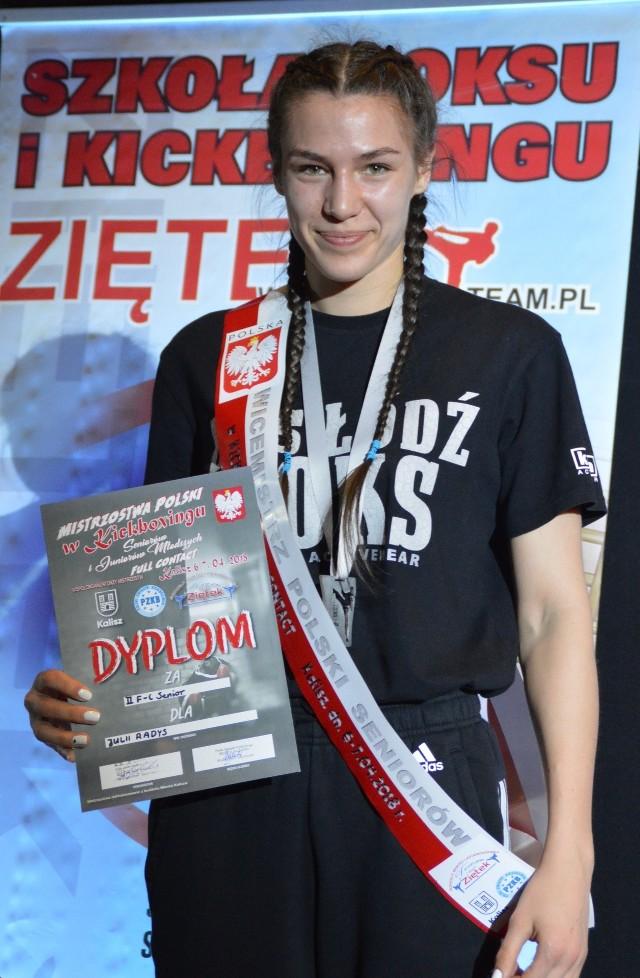 Julia Radys - wicemistrzyni Polski