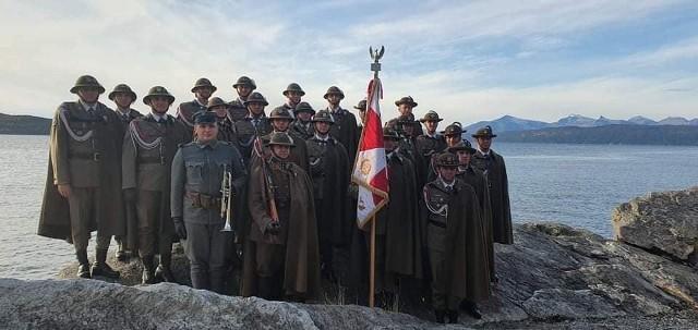 Uroczystości w Narwiku w Norwegii.