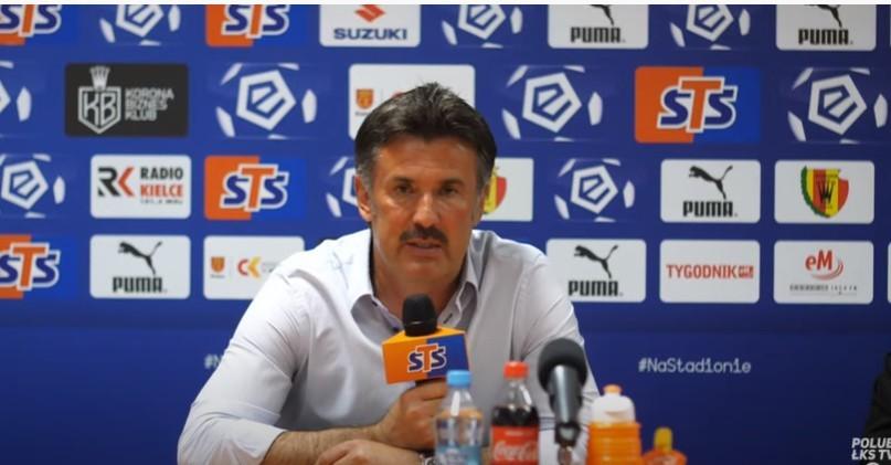 Trener ŁKS Wojciech Stawowy