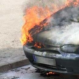 Mimo szybkiej interwencji mężczyzny spaleniu uległa sama instalacja i silnik.