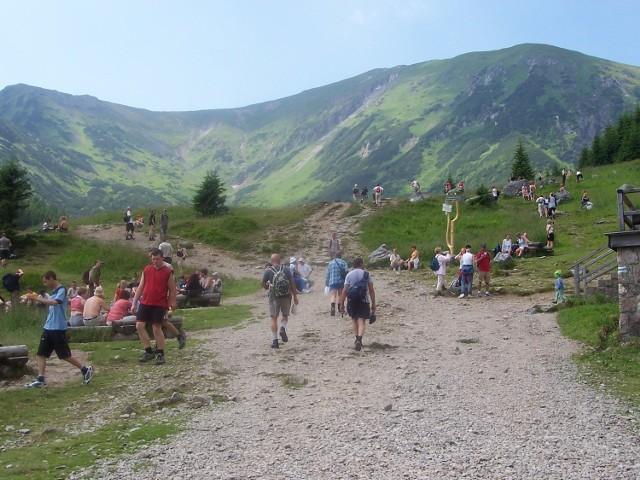 Codziennie na Giewont wchodziło po tysiąc - dwa tysiące turystów