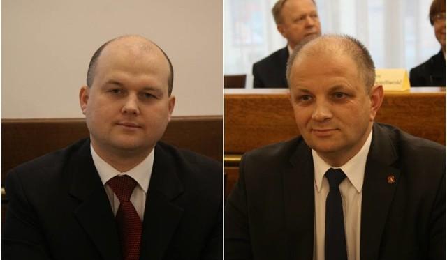 Piotr Popiel (z lewej) i Tomasz Pitucha.