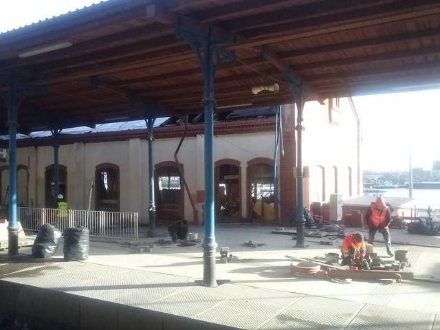Dobiegają końca między innymi prace w nowym budynku dworca PKP w Szczecinie.