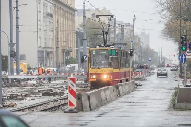 W piątek oraz w weekend po trasie ŁTR nie będą kursować tramwaje.