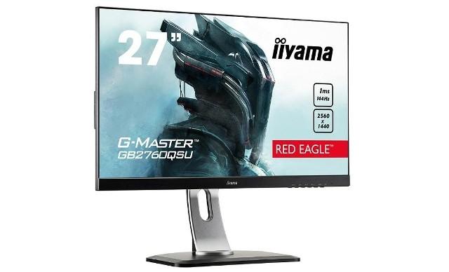 iiyama Red Eagle G-MASTER GB2760QSU-B1Monitor iiyama Red Eagle G-MASTER GB2760QSU-B1 do sprzedaży trafi na przełomie czerwca i lipca