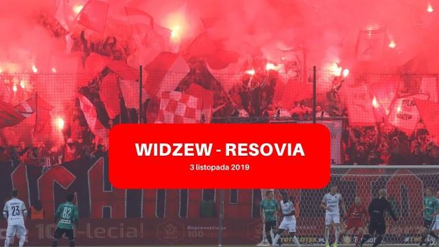WIDZEW - RESOVIA RELACJA LIVE. 3 listopada 2019 r.: śledź z nami mecz Widzew Łódź - Resovia Rzeszów na żywo [WYNIK ONLINE]
