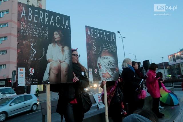 Akcja One Billion Rising w Szczecinie, luty 2020.