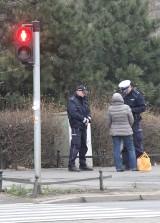 Czy policja ma rozkaz łapania pieszych na przejściach, gdzie są kamery? (LIST)