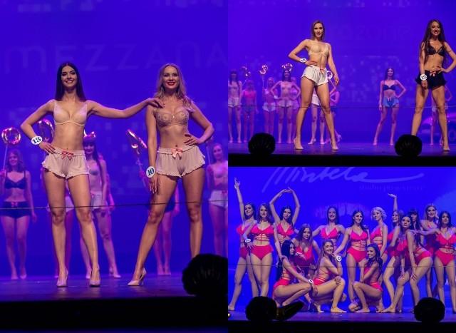 Wyjątkowy pokaz kandydatek i kandydatów podczas gali finałowej konkursu Miss i Mister Podlasia 2019. Finaliści zaprezentowali się w bieliźnie oraz strojach kąpielowych.