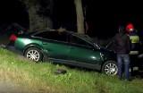 Wypadek niedaleko miejscowości Zawistowszczyzna (wideo)