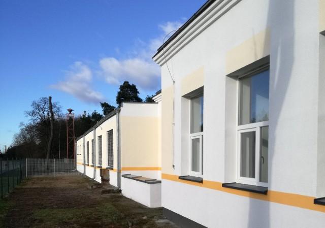 Środowiskowy Dom Samopomocy w Brzozowcu jest jeszcze w trakcie remontu.