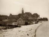 Bulwar przy zamku w Malborku zaczął się wyłaniać około 100 lat temu! Tak pisał o Nogacie i jego nabrzeżu Steinbrecht