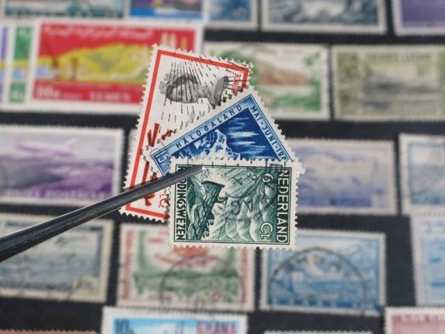 KIolekcjonaować można znaczki pocztowe