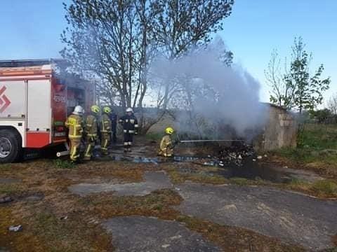 Co zdarzyło się w powiecie chełmińskim w miniony długi weekend? Między innymi pożar w Brukach Unisławskich