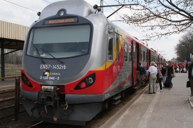 Od niedzieli pociągi zmienią trasy