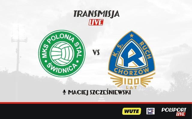 1 sierpnia 2020 r. odbędzie się mecz Polonia-Stal Świdnica - Ruch Chorzów.