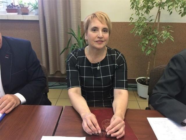 Teresa Strękowska, wójt gminy Nowinka.