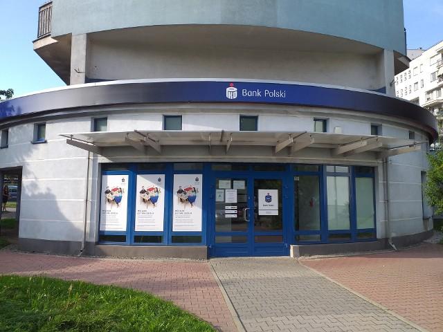 Oddział banku przy Balickiej
