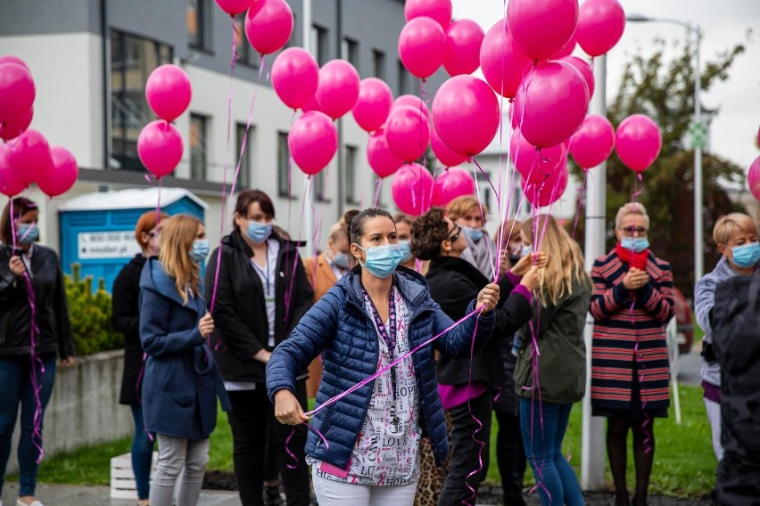 Obchody Europejskiego Dnia Walki z Rakiem Piersi w BCO.